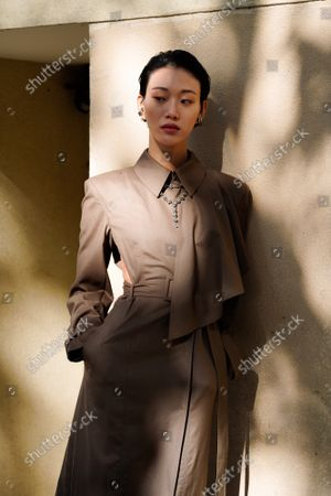 Editorial image of Stella McCartney show, Arrivals, Spring Summer 2022, Paris Fashion Week, France - 04 Oct 2021