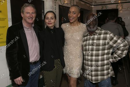 Editorial photo of 'Hamlet' play, Press Night, London, UK - 04 Oct 2021