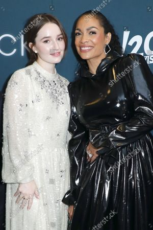 Stock Photo of Kaitlyn Dever and Rosario Dawson