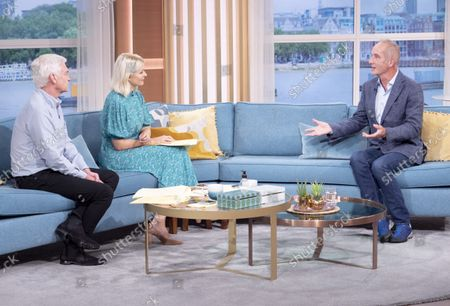 Stock Photo of Phillip Schofield, Holly Willoughby and Kevin McCloud
