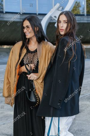 Demi Moore and daughter Scout LaRue Willis