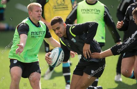 Editorial photo of Cardiff Rugby Training Session - 05 Oct 2021