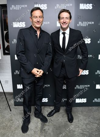 Jason Isaacs and Fran Kranz
