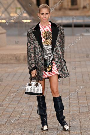 Editorial photo of Louis Vuitton show, Arrivals, Spring Summer 2022, Paris Fashion Week, France - 05 Oct 2021