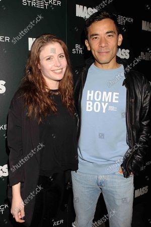 Stock Photo of Conrad Ricamora with Guest