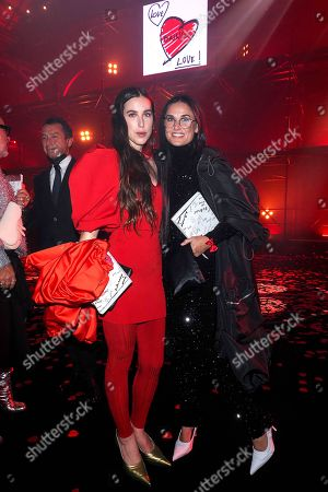 Editorial photo of 'Love Brings Love' Show, Arrivals, Spring Summer 2022, Paris Fashion Week, France - 05 Oct 2021