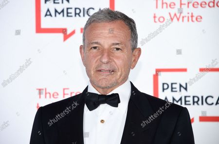 Stock Picture of Corporate honoree Robert Iger attends the 2021 PEN America Literary Gala at the American Museum of Natural History, in New York