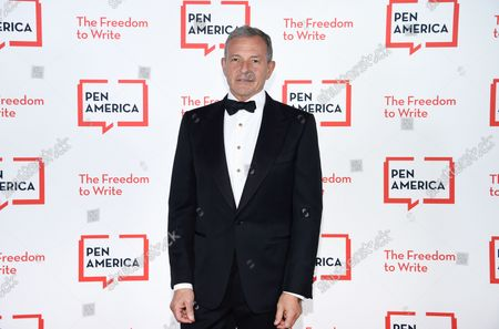 Corporate honoree Robert Iger attends the 2021 PEN America Literary Gala at the American Museum of Natural History, in New York