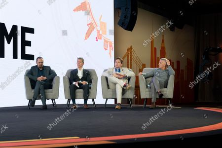 Editorial picture of NY: CoinGeek Conference day 1, New York, United States - 05 Oct 2021