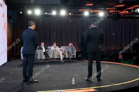 Editorial photo of NY: CoinGeek Conference day 1, New York, United States - 05 Oct 2021