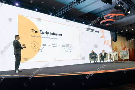 Editorial image of NY: CoinGeek Conference day 1, New York, United States - 05 Oct 2021