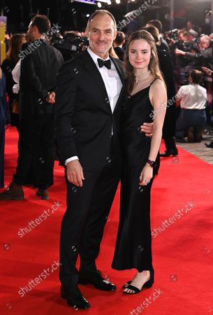 Stock Image of Tyrone Walker-Hebborn and daughter Scarlett