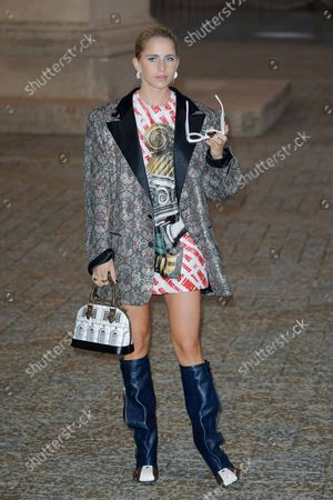 Editorial picture of Louis Vuitton show, Arrivals, Spring Summer 2022, Paris Fashion Week, France - 05 Oct 2021