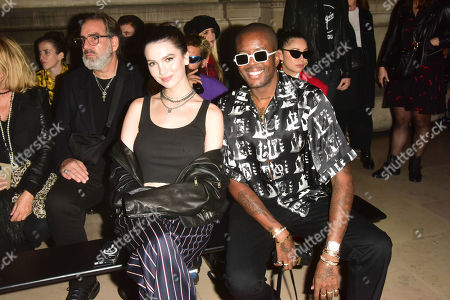 Editorial picture of Enfants Riches Deprimes show, Front Row, Spring Summer 2022, Paris Fashion Week, France - 02 Oct 2021