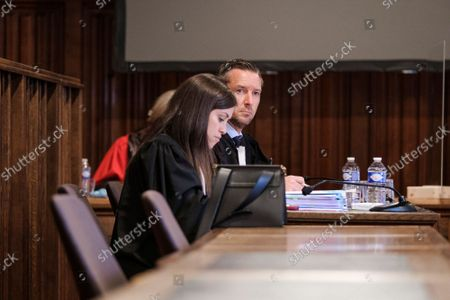 Editorial image of Liege Assizes Trial Press Offence, Liege, Belgium - 06 Oct 2021