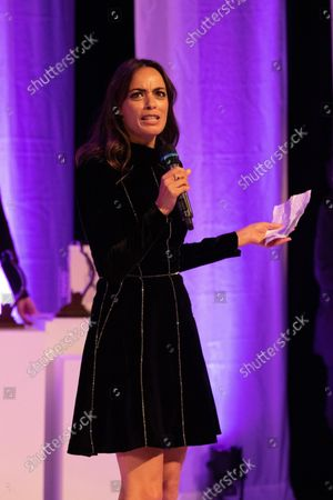 The president of the jury Berenice Bejo at the Festival Palace for the closing ceremony