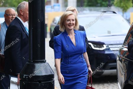 Liz Truss MP, Foreign Secretary, on day three of the Conservative Party Conference at Manchester Central, Manchester on Tuesday 5th October 2021.