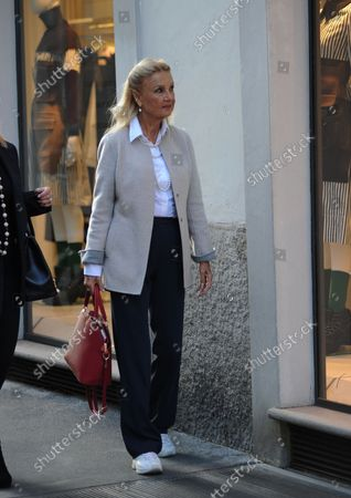 Editorial picture of Barbara Bouchet out and about, Milan, Italy - 30 Sep 2021