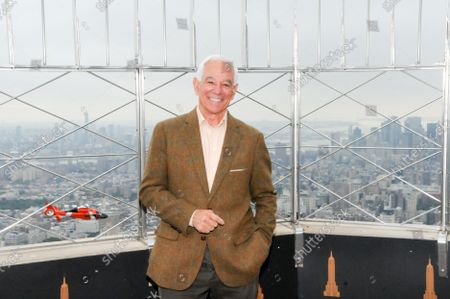 Editorial image of Bobby Valentine visits the Empire State Building in New York, US - 06 Oct 2021
