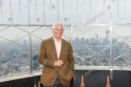 Editorial picture of Bobby Valentine visits the Empire State Building in New York, US - 06 Oct 2021