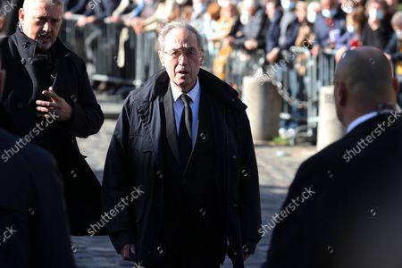 Editorial photo of Mass in tribute to Bernard Tapie, Paris, France - 06 Oct 2021