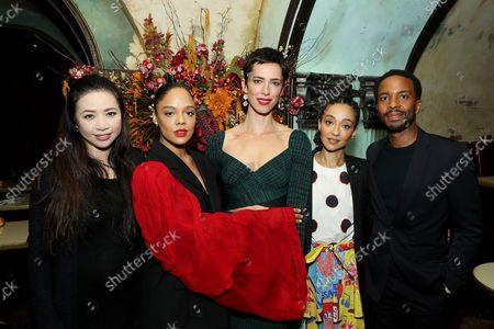 Nina Yang Bongiovi (Producer), Tessa Thompson, Rebecca Hall (Director and Writer), Ruth Negga, Andre Holland
