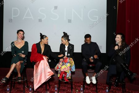 """Editorial picture of Special New York Screening for Netflix """"Passing"""",The Roxy Hotel Screening Room, - 05 Oct 2021"""
