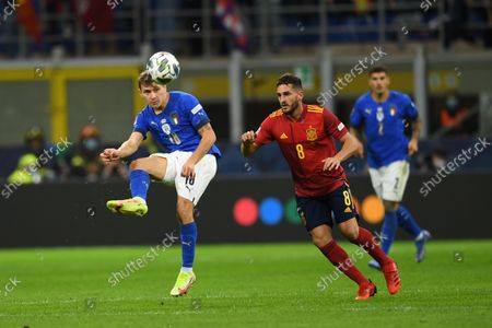Editorial photo of Soccer: UEFA Nations League 2020-2021: Italy 1-2 Spain, Milano, Italy - 06 Oct 2021