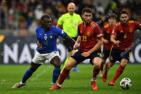 Editorial picture of Soccer: UEFA Nations League 2020-2021: Italy 1-2 Spain, Milano, Italy - 06 Oct 2021