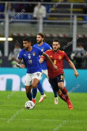 Editorial image of Soccer: UEFA Nations League 2020-2021: Italy 1-2 Spain, Milano, Italy - 06 Oct 2021