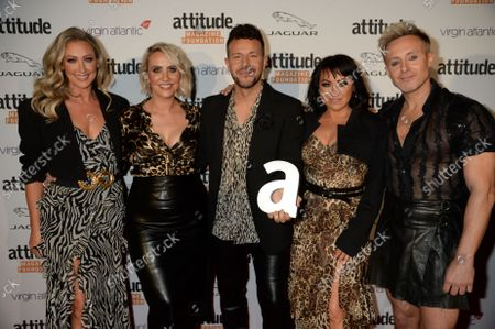 """Stock Picture of Lisa Scott-Lee, Lee Latchford-Evans, Claire Richards, Ian """"H"""" Watkins and Faye Tozer from Steps"""