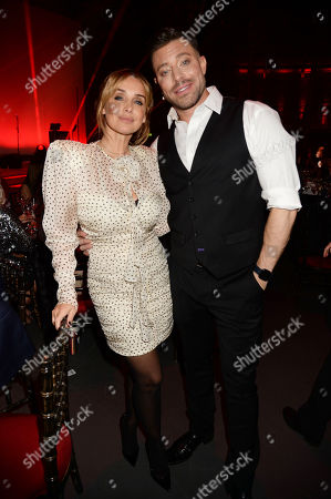Duncan James and Louise Redknapp