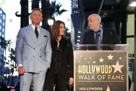 Daniel Craig, Barbara Broccoli, Michael G. Wilson