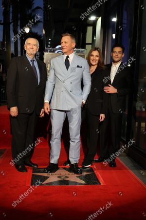Editorial image of Daniel Craig Honored with Star on the Hollywood Walk of Fame, Los Angeles, CA, USA - 6 Oct 2021