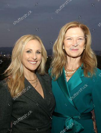Stock Picture of Marlee Matlin And Dawn Hudson, at the 2021 WIF Honors Celebrating Trailblazers Of The New Normal at the Academy Museum of Motion Pictures in Los Angeles, California