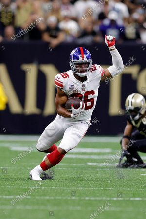 Editorial image of Giants Saints Football, New Orleans, United States - 03 Oct 2021
