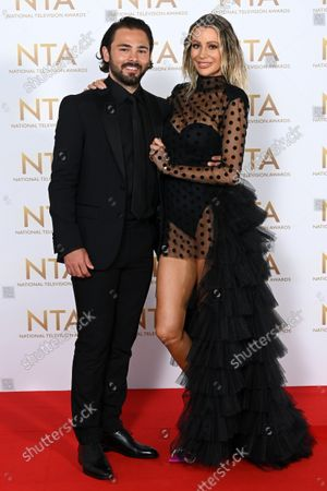 Stock Picture of Bradley Dack and Olivia Attwood