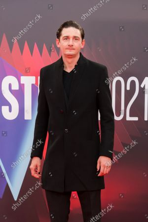 James Harkness attends the headline gala of 'Spencer' during the BFI London Film Festival at the Royal Festival Hall in London, Britain, 07 October 2021. The British Film Institute festival runs from 06 to 17 October.