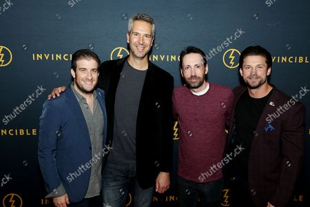 """Editorial picture of New York Premiere of Invincible """"Hell Or High Seas"""",The Intrepid Sea, Air & Space Museum, - 07 Oct 2021"""