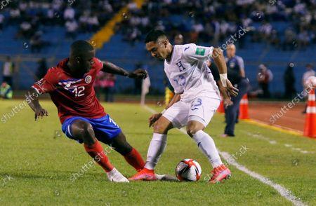 Editorial picture of Costa Rica WCup Soccer, San Pedro Sula, Honduras - 07 Oct 2021