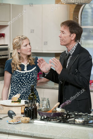 Lisa Faulkner and Sir Cliff Richard