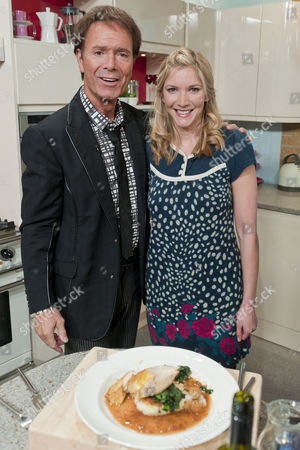 Sir Cliff Richard and Lisa Faulkner