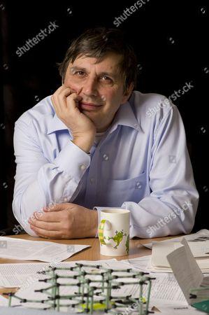 Editorial picture of Professor Andre Geim, Nobel prize winning physicist, Manchester, Britain - 17 Nov 2010