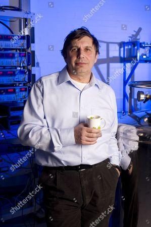 Editorial photo of Professor Andre Geim, Nobel prize winning physicist, Manchester, Britain - 17 Nov 2010