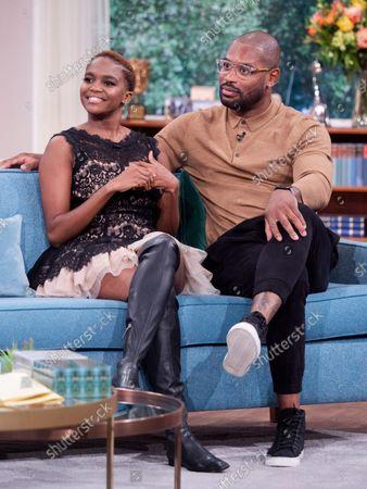 Stock Image of Otlile Mabuse and Ugo Monye