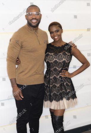 Stock Picture of Ugo Monye and Otlile Mabuse