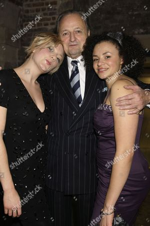 Robyn Addison, Peter Bowles and Carlyss Peer