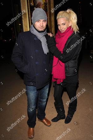 Tom Crane and Sarah Harding