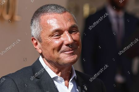 Jean-Christophe Babin during the Bulgari Serpenti Metamorphosis event in Milan, Italy on October 6, 2021.
