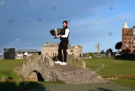 Editorial photo of The Alfred Dunhill Links Championship 2021 The Old Course, St Andrews, Fife, St Andrews, United Kingdom - 03 Oct 2021